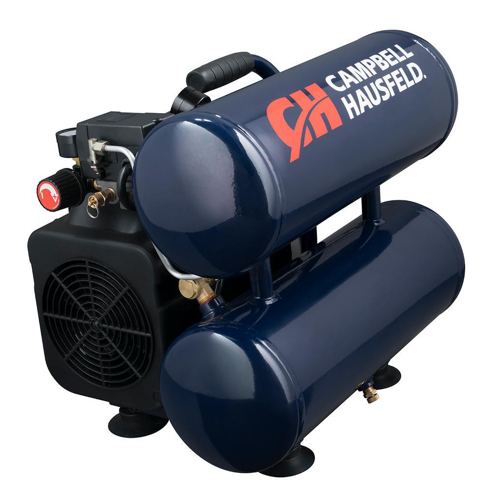 4 Gal. 125 Max PSI Electric Portable Air Compressor