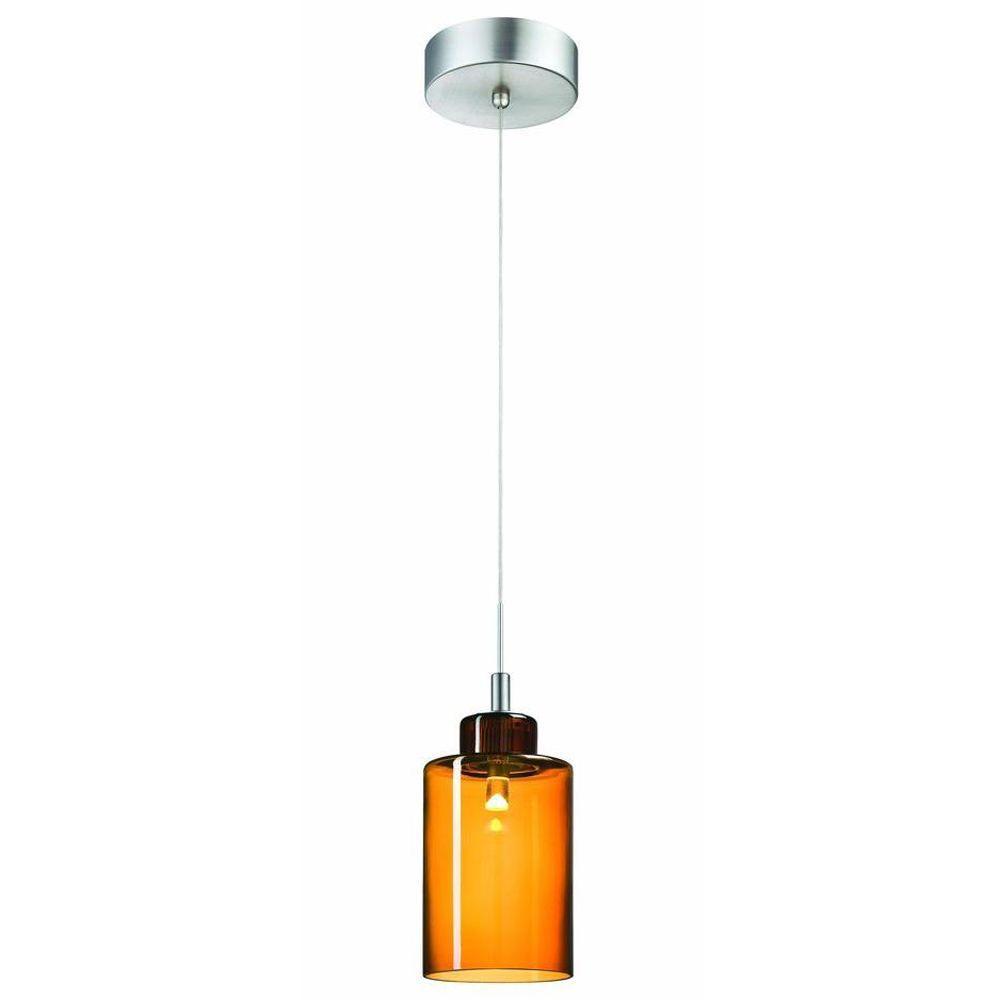 Philips Harmonize 1-Light Satin Nickel LED Hanging Pendant