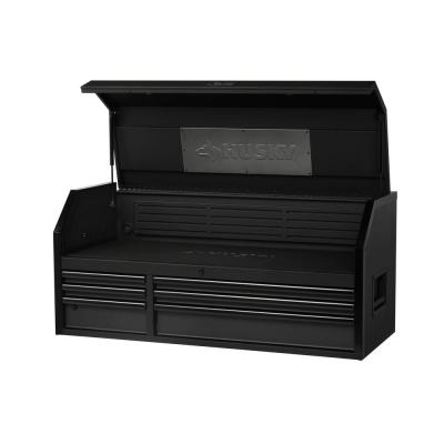 Heavy-Duty 52 in. W 6-Drawer, Deep Tool Chest in Matte Black