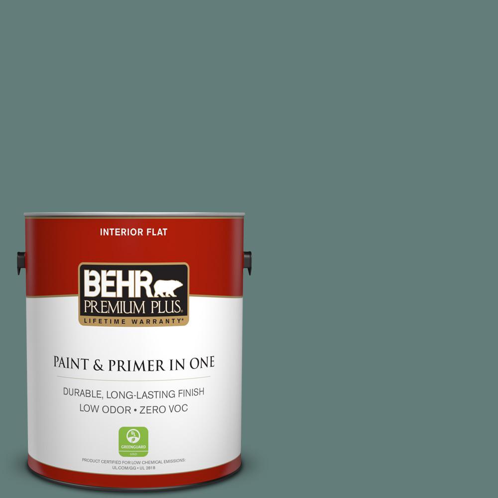 BEHR Premium Plus 1-gal. #N430-5 Aspen Valley Flat Interior Paint