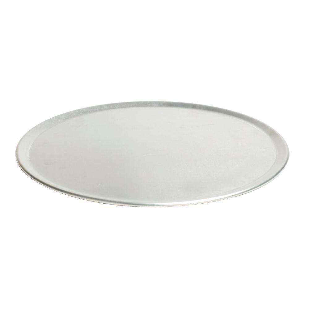 "Aluminum 18/"" Outside Diam. Pizza Tray"