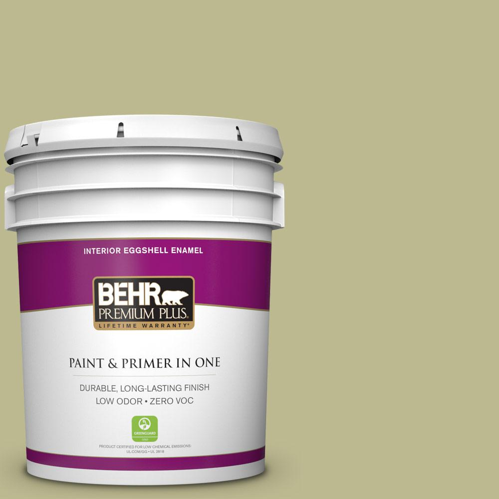 5-gal. #S340-4 Back to Nature Eggshell Enamel Interior Paint