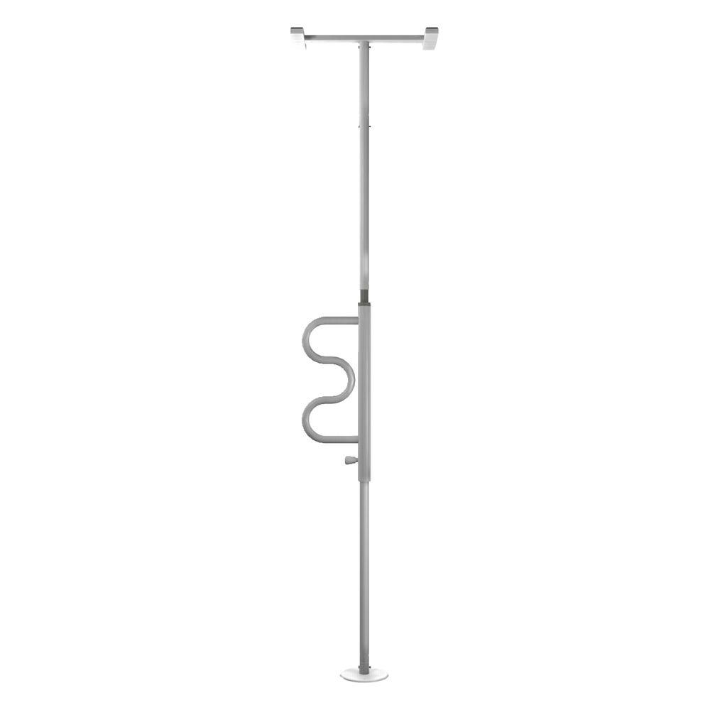 Stander Adjustable Floor to Ceiling Security Pole and Curve Grab ...