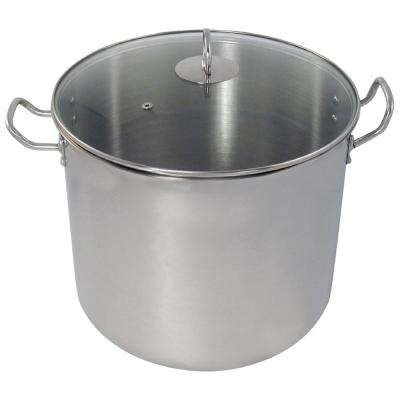 24 Qt. All Purpose Stainless Steel Cooking Stock Pot