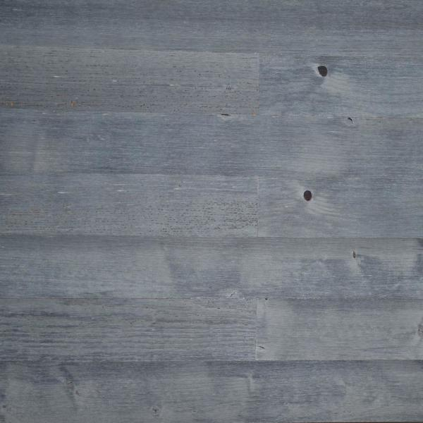 1/8 in. L x 3 in. W x 12-42 in. HPeel and Stick Blue Gray Wooden Decorative Wall Paneling (20 sq. ft./Box)