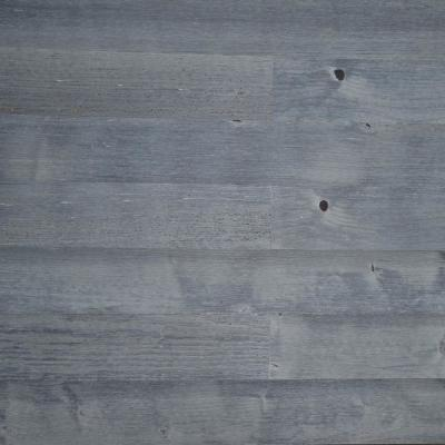 1/8 in. L x 3 in. W x 12-42 in. HPeel and Stick Blue Gray Wooden Decorative Wall Paneling (40 sq. ft./Box)