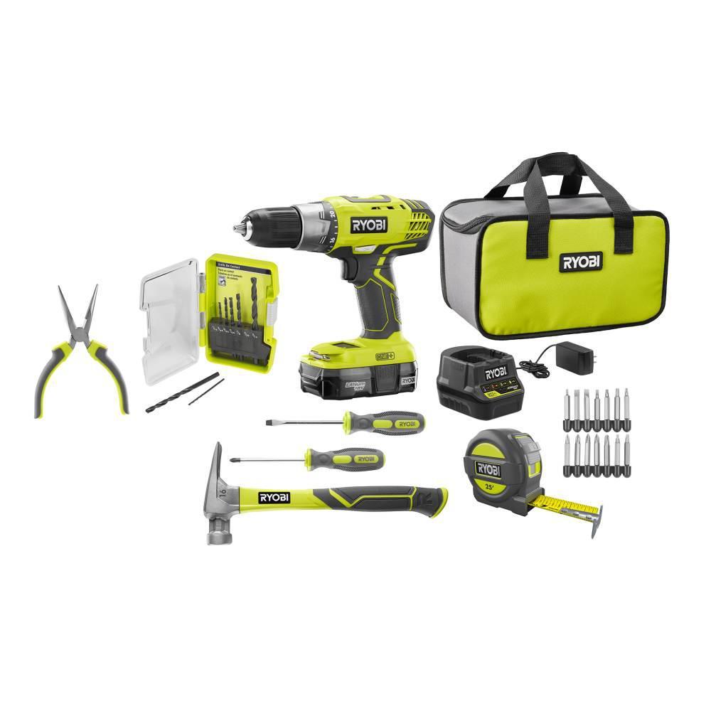 18-Volt ONE+ Homeowner's Starter Kit