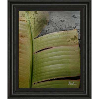 """22 in. x 26 in. """"Butterfly Palm II"""" by Patricia Pinto Framed Printed Wall Art"""