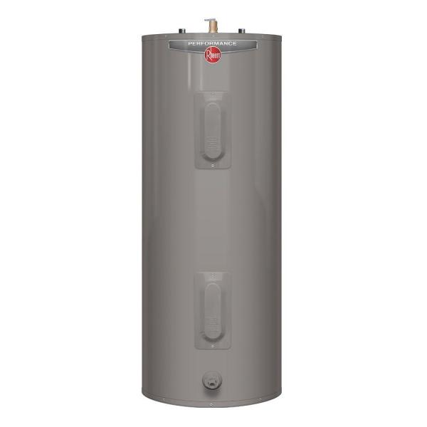 Performance 40 Gal. Medium 6 Year 4500/4500-Watt Elements Electric Tank Water Heater