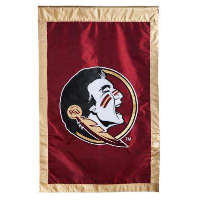 2-5/12 ft. x 3-2/3 ft. Florida State University Applique House Flag