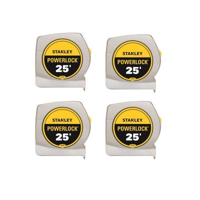 25 ft. PowerLock Tape Measure (4-Pack)