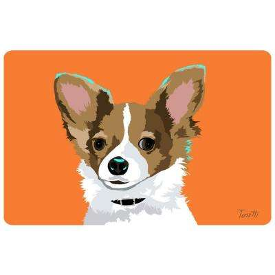 Printed Chihuahua 36 17.5 in. x 26.5 in. Mat