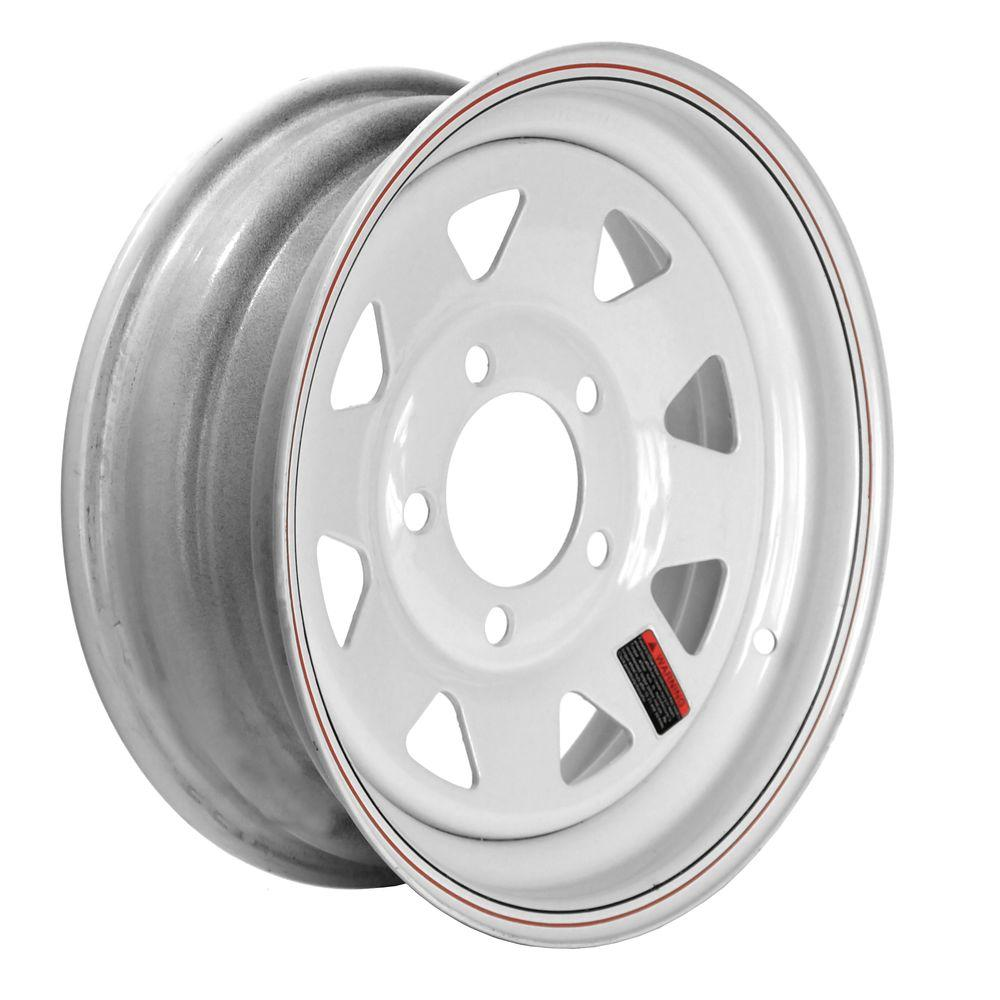 13x4.5 5-Hole 13 in. Steel Custom Spoke Trailer Wheel/Rim