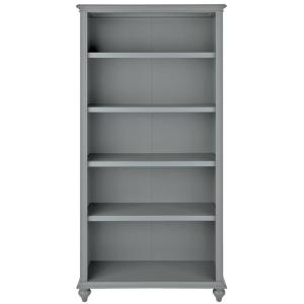 Home Decorators Collection Hamilton 5 Shelf Grey Open Bookcase 9787000270