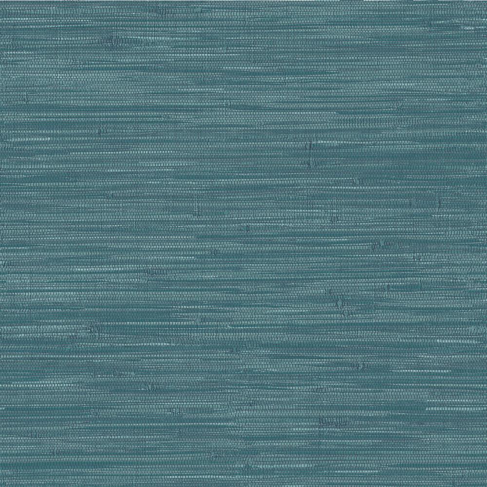 Grassweave Navy Peel and Stick Wallpaper