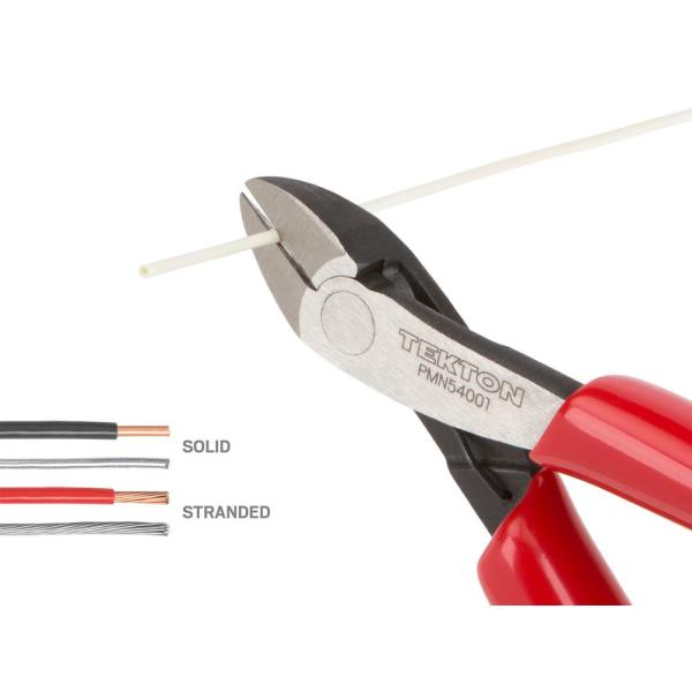 Mini Pliers Cutter 5pc Storage Case Craft Model Electric Cutting Long Nose TE252