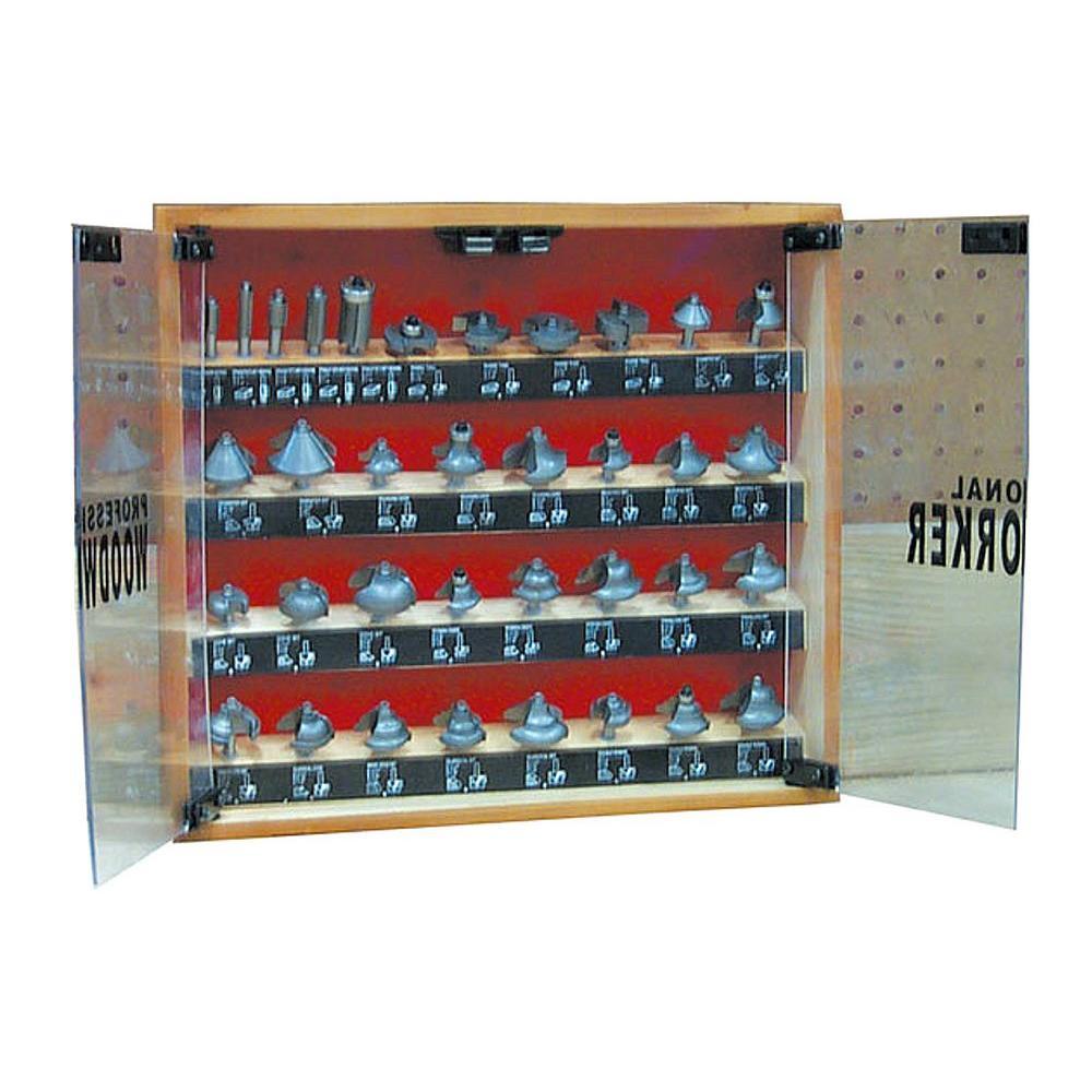 35-Piece Router Bit Set