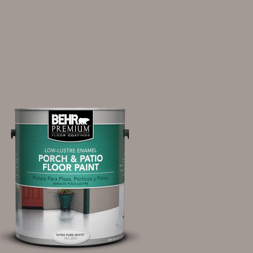1 gal. #BXC-54 River Pebble Low-Lustre Interior/Exterior Porch and Patio Floor