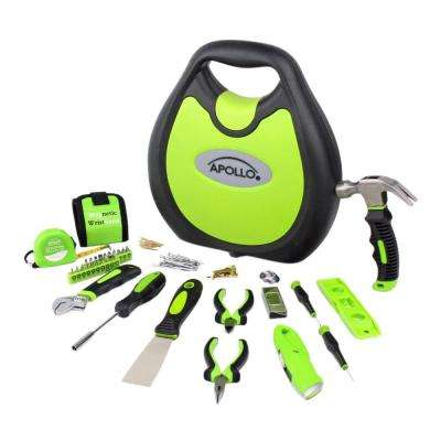 Tools Household Tool Kit, Green (72-Piece)