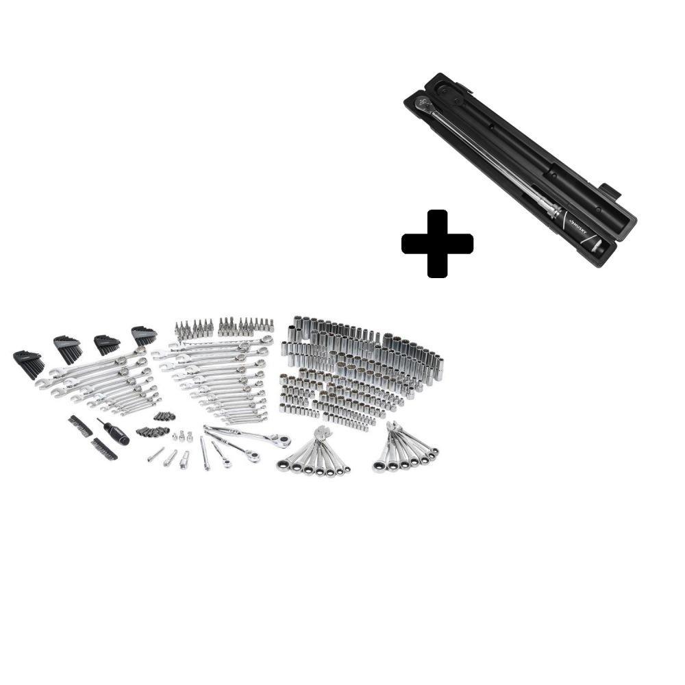 Husky Mechanics Tool Set (349-Piece) with Bonus 1/2 in. D...
