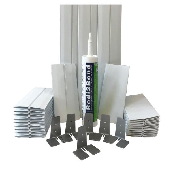 4 in.Thick Series Silicone System Glass Block Installation Kit (10 Block Kit for 8 in. x 8 in. x 4 in. or Smaller Block)