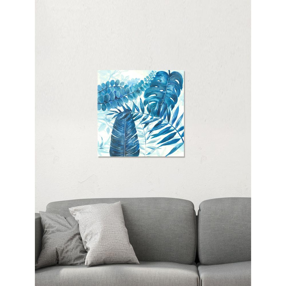 Blue Branches Printed Canvas Gel Coated Wall Art  sc 1 st  Home Depot & 24 in. x 24 in. Blue Branches Printed Canvas Gel Coated Wall Art ...