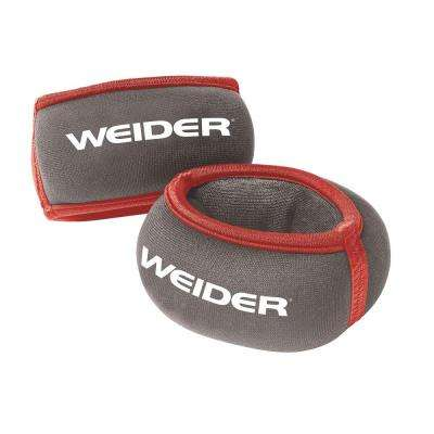 2 lb. Pair Wrist Weights