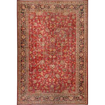 Aura Red 8 ft. x 11 ft. Indoor Area Rug