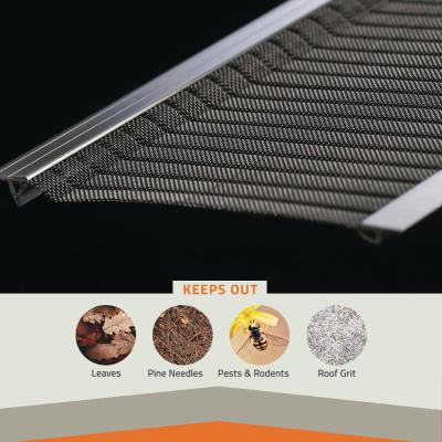 3 ft. L x 5 in. W Stainless Steel Micro-Mesh Gutter Guard (13-Pack)