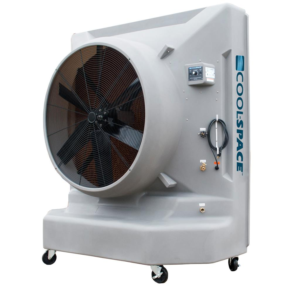 Blizzard50 26485 CFM 12 Speed Portable Evaporative Cooler For 6500 Sq. Ft.