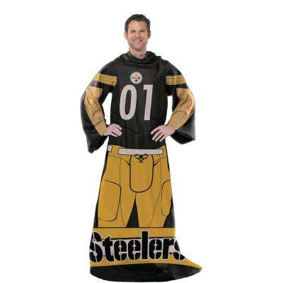 Steelers Multi Color Polyester Uniform Throw Comfy