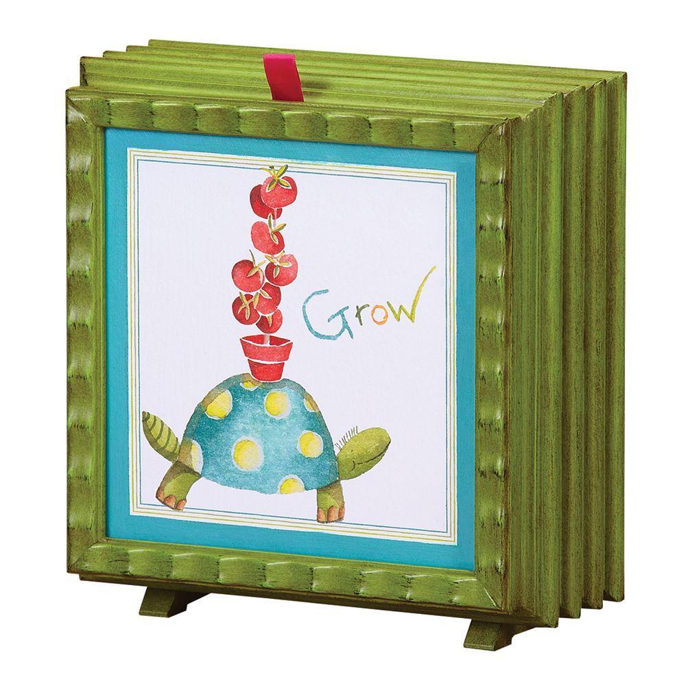 null 7 in. Debbie Taylor Kerman Fan-Turtle Grow