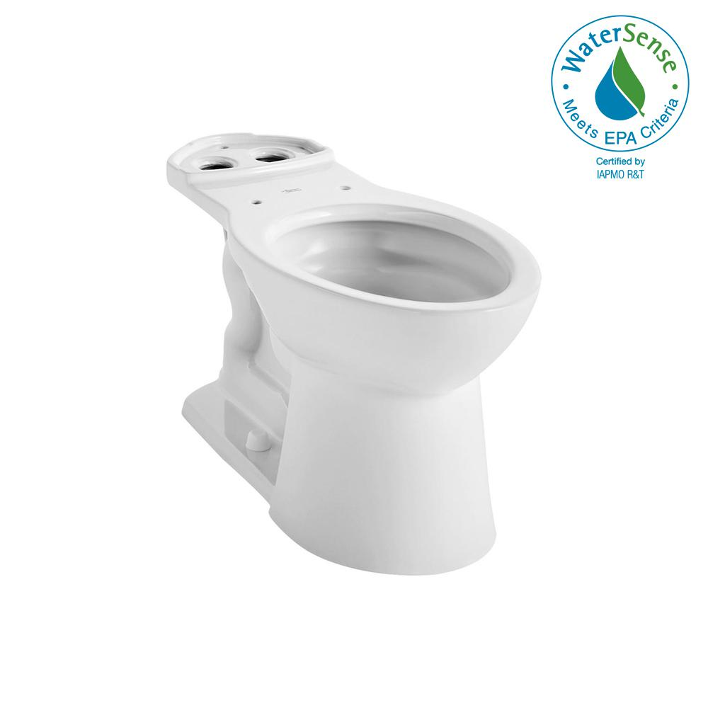 VorMax Elongated Toilet Bowl Only in White