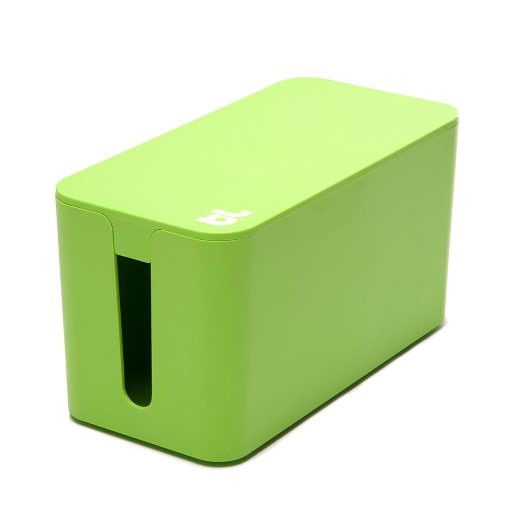CableBox Mini with Surge Protector, Green