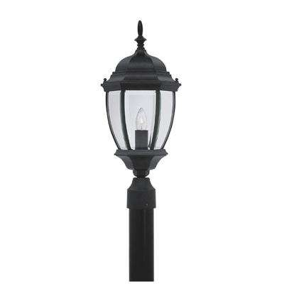 Hallowell Collection Outdoor Black Post Lantern