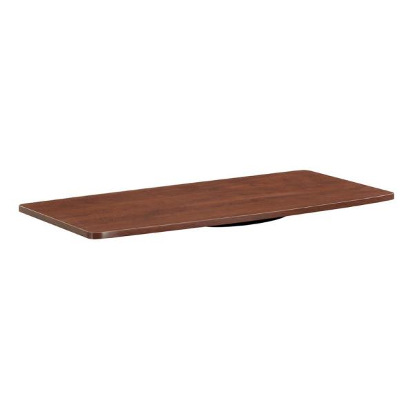Designs2Go 31.5 in. Cherry Particle Board TV Swivel Stand 32 in.