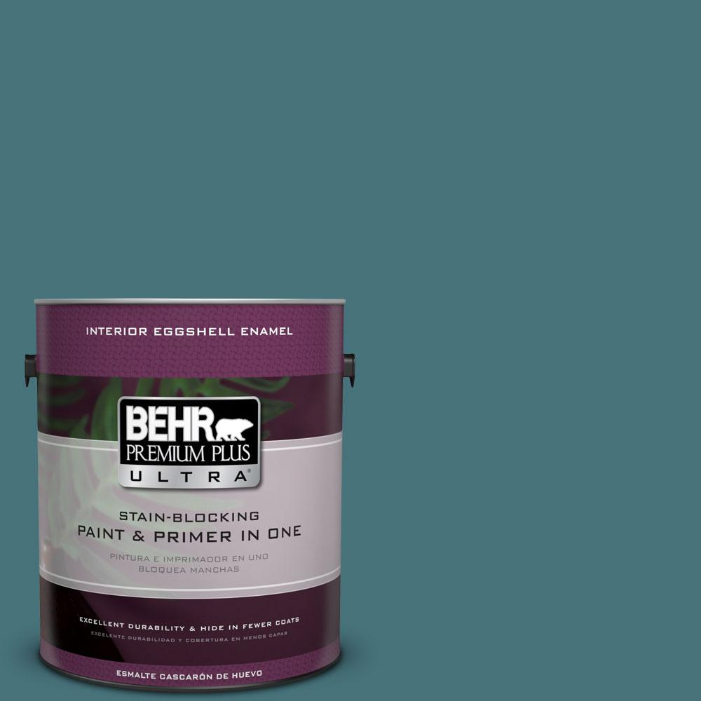BEHR Premium Plus Ultra 1 gal HDCFL1503 Blue Sage Interior