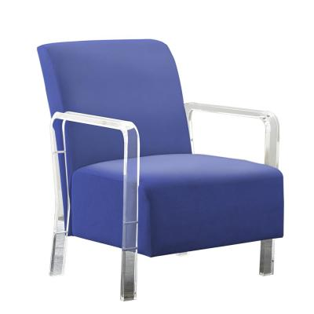 Tyra Blue Arm Chair