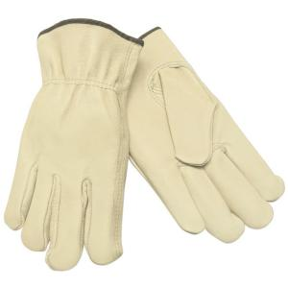 Premium Grade Unlined Pigskin Large Driver Glove