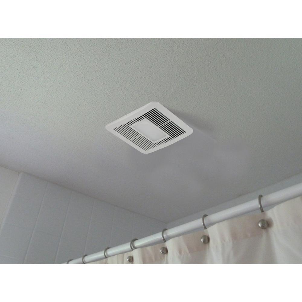 Tools Home Improvement Ventilation Fans Delta Breezsmart Smt150led 150 Cfm Exhaust Bath Fan With Led Light And Night Light