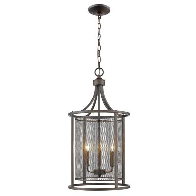 Verona 3-Light Oil Rubbed Bronze Chandelier