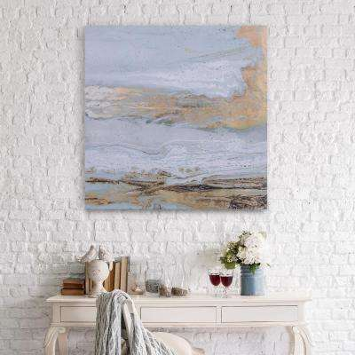 Playa Secreto Coastal Modern Canvas Wall Art
