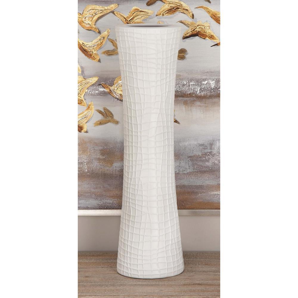23 in glazed ceramic decorative vases in black gray and white glazed ceramic decorative vases in black gray and white set of 3 87734 the home depot reviewsmspy