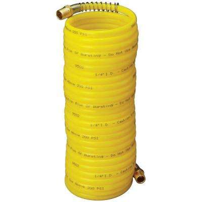 1/4 in. x 25 ft. Economy Hose with 1/4 in. Male Solid and 1/4 in. Male Swivel