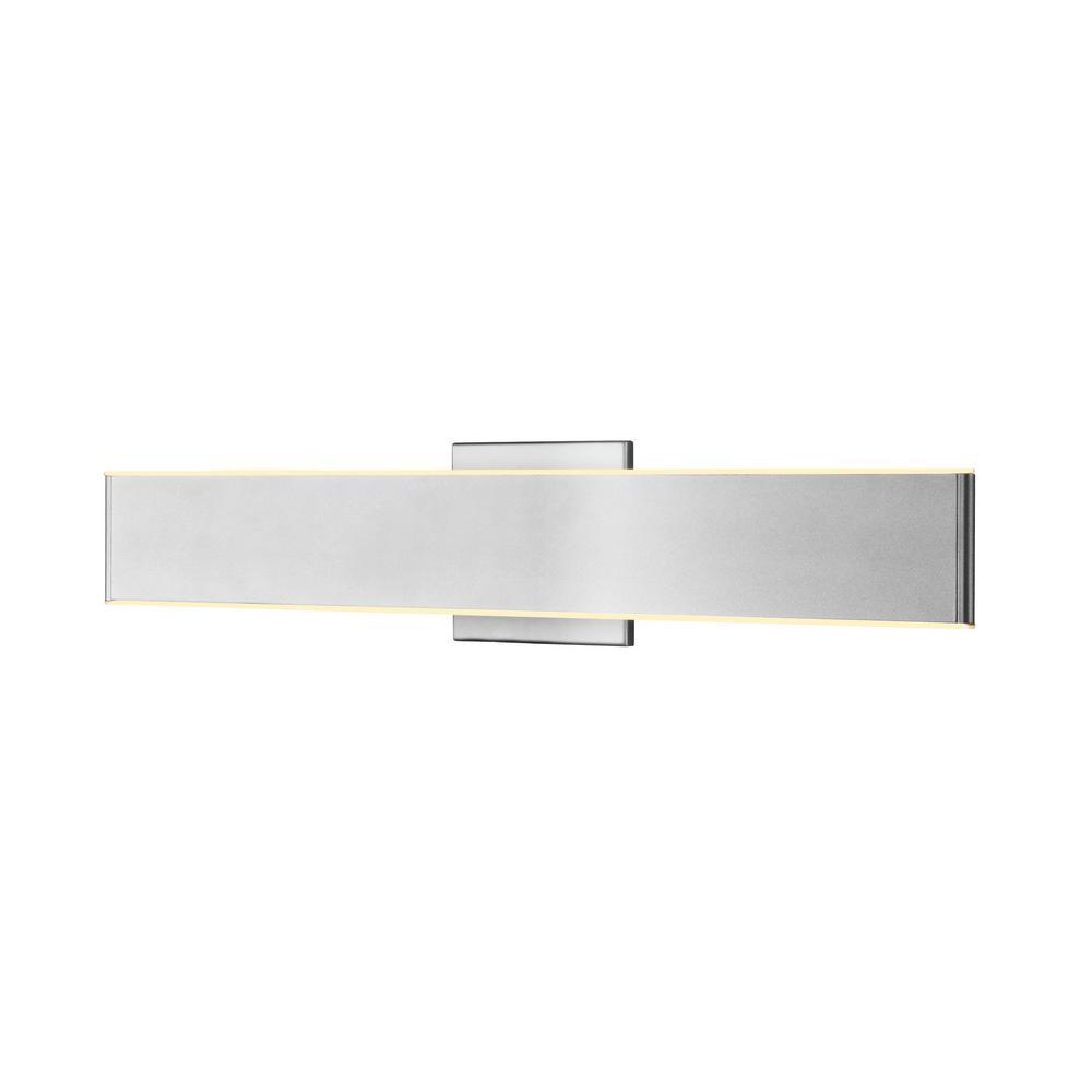 VONN Lighting Wezen VMW16810AL 24 in. Silver LED Vanity and Bathroom Lighting Fixture