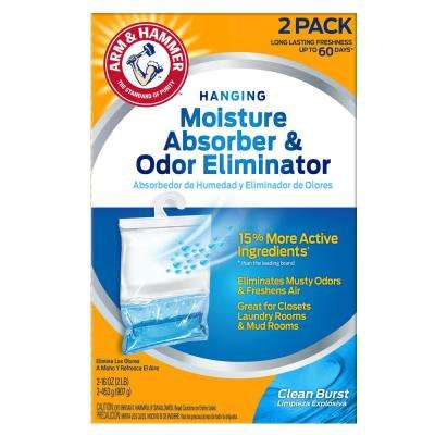 16 oz. Moisture Absorber and Odor Eliminator Clean Burst Scent (2-Pack)
