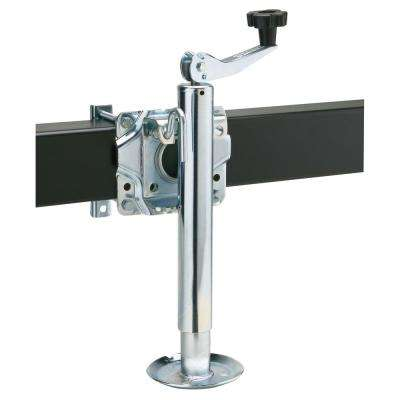 1000 Lb. Side Mount, Top Wind Jack With Foot Plate