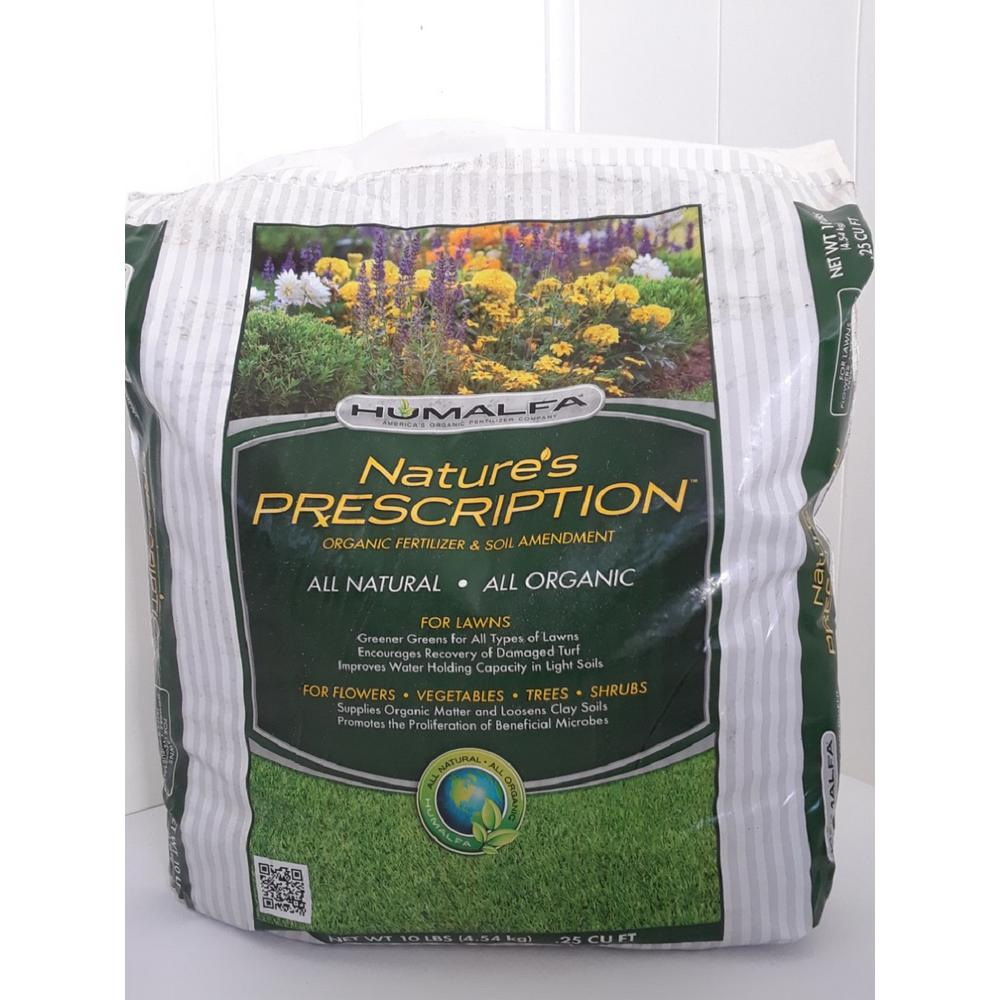HUMALFA Organic Compost Fertilizer - Concentrated Strength (10 lbs. Makes 40