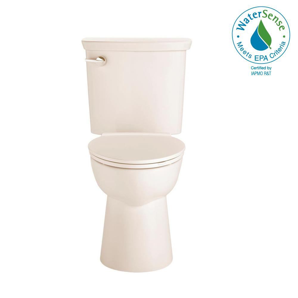 Vormax Tall Height 2-Piece 1.28 GPF Single Flush Elongated Toilet in
