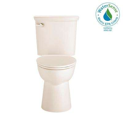 Vormax Tall Height 2-Piece 1.28 GPF Single Flush Elongated Toilet in Linen, Seat Not Included